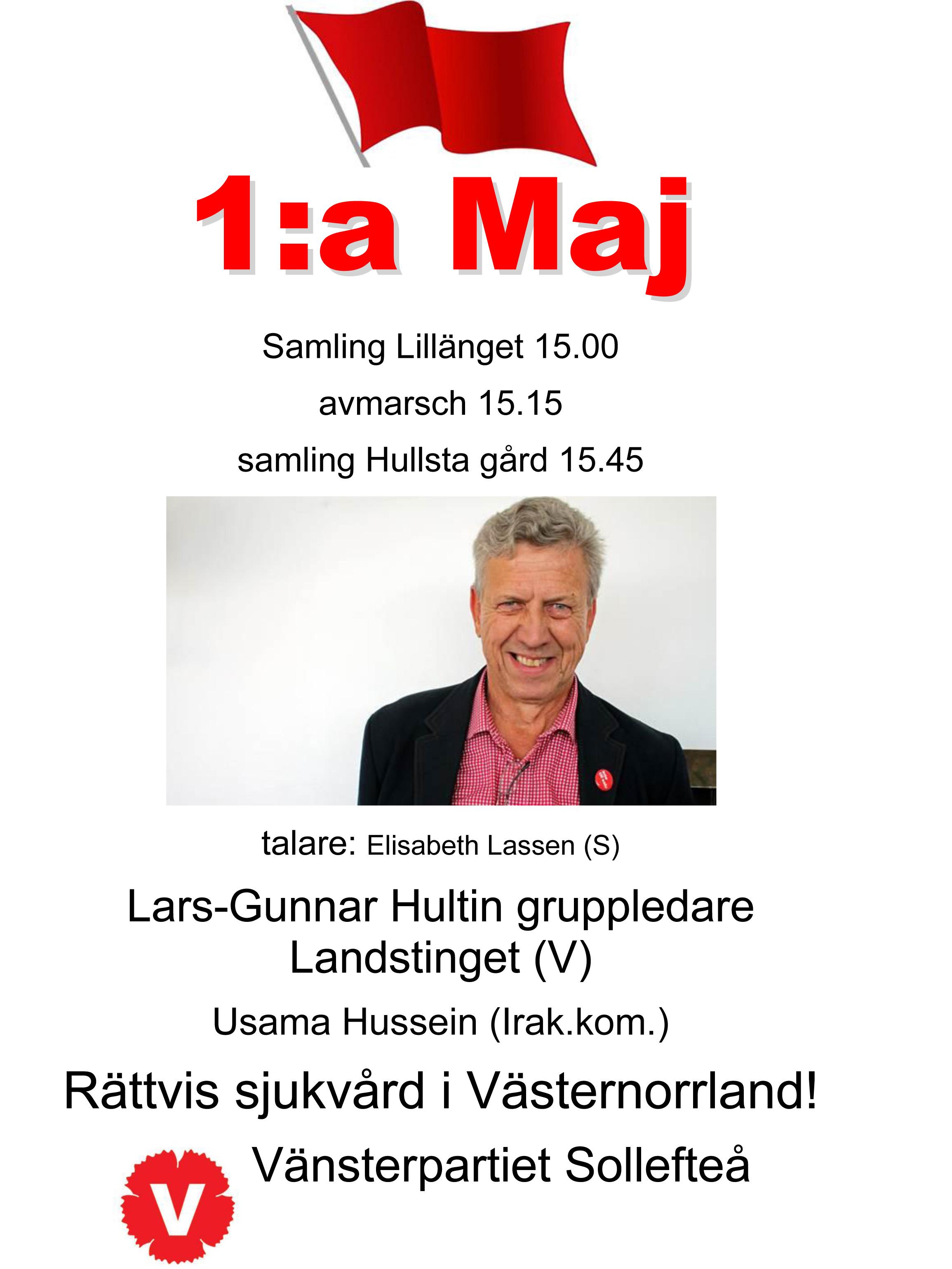 1maj 2016 affisch Lars Gunnar (1)